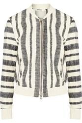 3.1 Phillip Lim Printed Leather Jacket White
