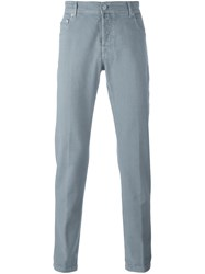 Kiton Slim Fit Jeans Grey