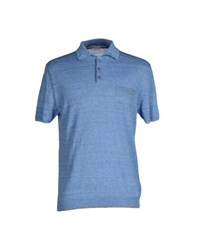 Malo Topwear Polo Shirts Men Sky Blue
