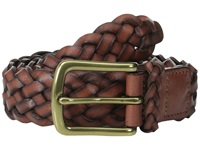 Torino Leather Co. 30Mm Braided Harness Dark Tan Men's Belts Brown