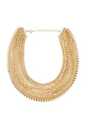 Forever 21 Box Chain Layered Necklace
