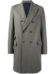 Palto Double Breasted Coat Green