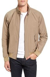 Baracuta Men's 'G9' Water Repellent Harrington Jacket Tan