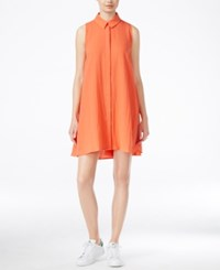 Racehl Rachel Roy Shift Shirtdress Poppy