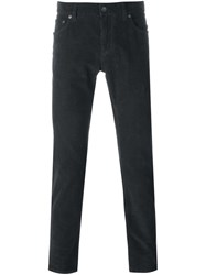 Dolce And Gabbana Corduroy Trousers Green