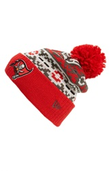New Era 'Retro Chill Tampa Bay Buccaneers' Knit Hat Red