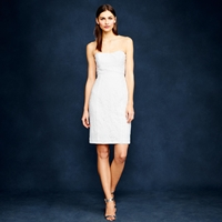 J.Crew Mackenna Dress In Leavers Lace