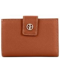 Giani Bernini Wallet Softy Leather Indexer Cognac