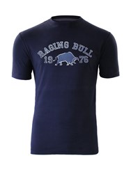 Raging Bull 1976 T Shirt Navy