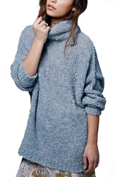 Free People Women's 'She's All That' Knit Turtleneck Sweater
