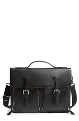 Ted Baker 'Rokalo' Leather Briefcase Black