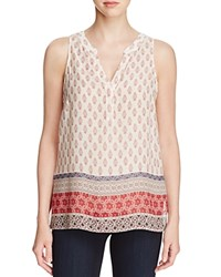 Sanctuary Mori Boho Print Sleeveless Top Filigree Patchwork