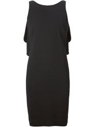 Ralph Lauren Black Label Ralph Lauren Black Open Back Peplum Dress
