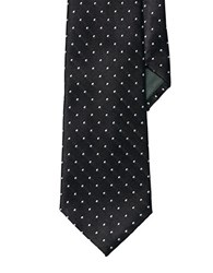Lauren Ralph Lauren Pin Dot Silk Tie Black