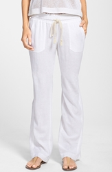 Roxy 'Oceanside' Beach Pants Sea Salt