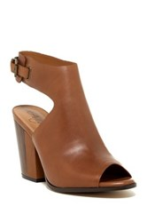 Arturo Chiang Crissy Ankle Strap Pump Brown