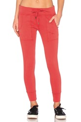 Alldaynsf Rue Sweatpant Red