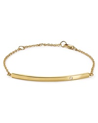 Jennifer Zeuner Jewelry Jennifer Zeuner Chelsea Horizontal Bar Bracelet Gold