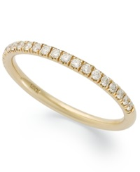 X3 Certified Diamond Anniversary Band In 18K Gold 1 4 Ct. T.W.
