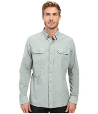 Kuhl Airspeed Long Sleeve Top Desert Sage Men's Long Sleeve Button Up Gray