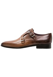 Melvin And Hamilton Lance Slipons Dark Brown