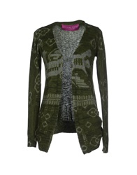 Custoline Cardigans Military Green