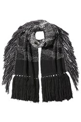 Missoni Wool Scarf With Fringe Multicolor