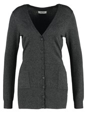 Zalando Essentials Cardigan Grey Mottled Dark Grey