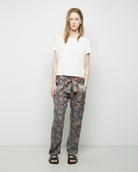 Isabel Marant Almon Paper Bag Pant Black