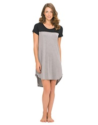 Ellen Tracy Yours To Love Short Nightgown Grey