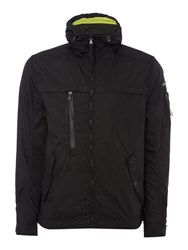 Duck And Cover Karteka Lightweight Hooded Jacket Black