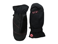 Roxy Mouna Solid Mitt Anthracite Extreme Cold Weather Gloves Pewter