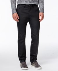 Guess Coated Chinos Jet Black