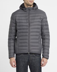 Schott Nyc Charcoal Silverado Feather Down Jacket Grey