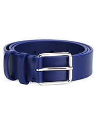 Jil Sander Buckle Belt Blue