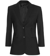 The Row Schoolboy Wool Blazer Black