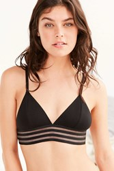 Out From Under Banded Triangle Bra Black