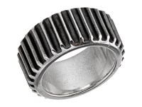 King Baby Studio Wide Gear Ring Sterling Silver Ring