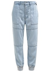 Diesel Jenna Relaxed Fit Jeans 0Dame Bleached Denim