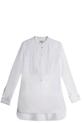 Temperley London Cyril Pintuck Shirt White