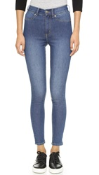 Cheap Monday High Spray Jeans Mid Blue