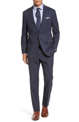 Todd Snyder Men's White Label Trim Fit Plaid Stretch Wool Suit