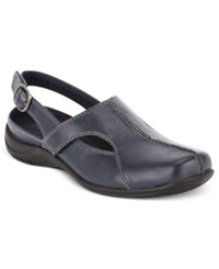 Easy Street Shoes Easy Street Sportster Comfort Clogs Women's Shoes New Navy