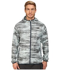 New Balance Windcheater Jacket Woodprint Men's Jacket Green