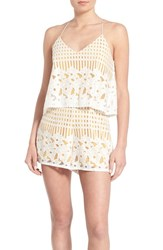 Lovers Friends Women's 'Henna' Lace Camisole