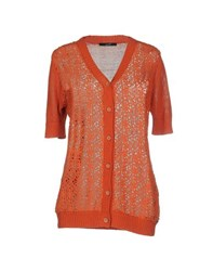 G.Sel Knitwear Cardigans Women Orange