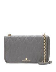 Vince Camuto Quilted Crossbody Clutch Dark Grey