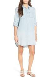 Billabong Women's 'Got The Blues' Chambray Shirtdress