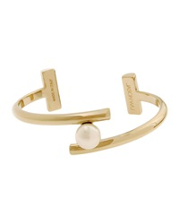 Gold Plated Floating Pearly Bracelet Jason Wu