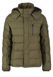 Wrangler The Protector Winter Jacket Ivy Green Oliv